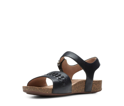 "CLARKS CLARKS ""UN PERRI WAY"" 48701 Leather Sandal"