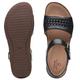 "CLARKS CLARKS ""UN PERRI WAY"" 48701 Leather Sandal"