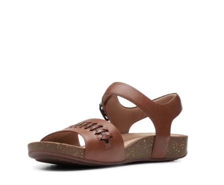 "CLARKS CLARKS ""UN PERRI WAY"" 48703 Leather Sandal"