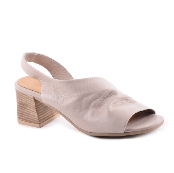 "BUENO BUENO ""EVERLY"" Slingback Leather Sandal"