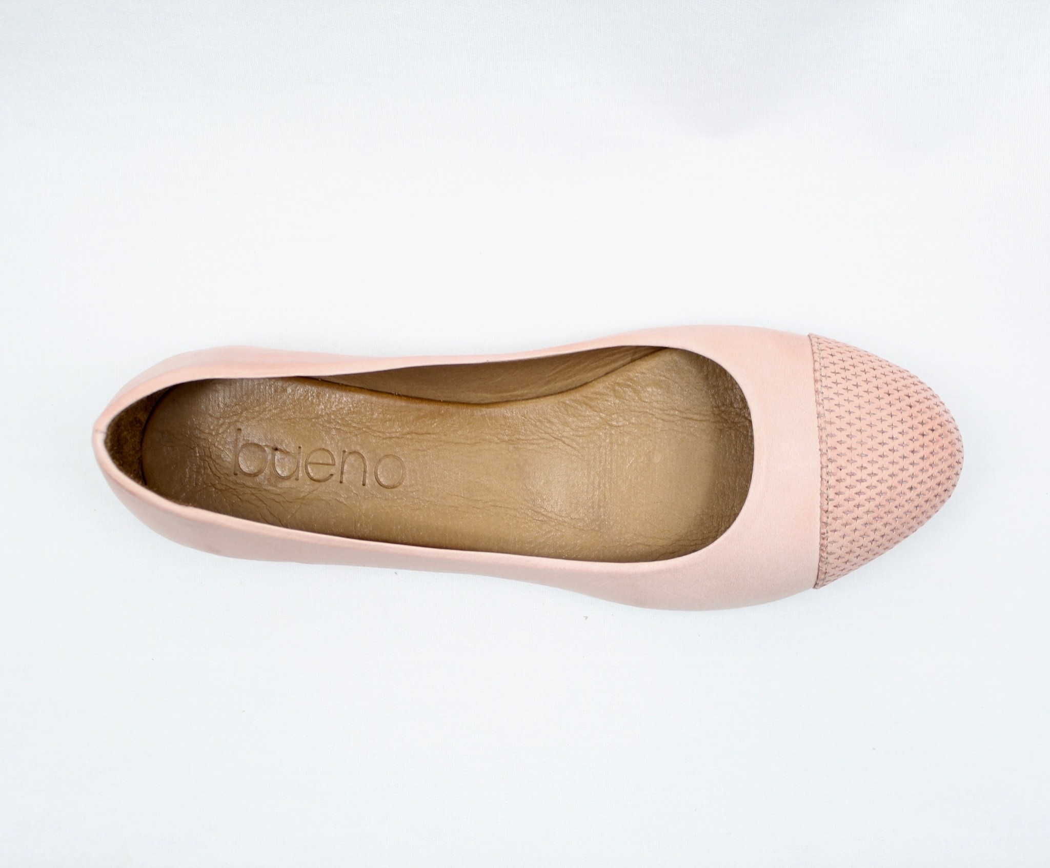 "BUENO BUENO ""KAP"" Leather Flat"