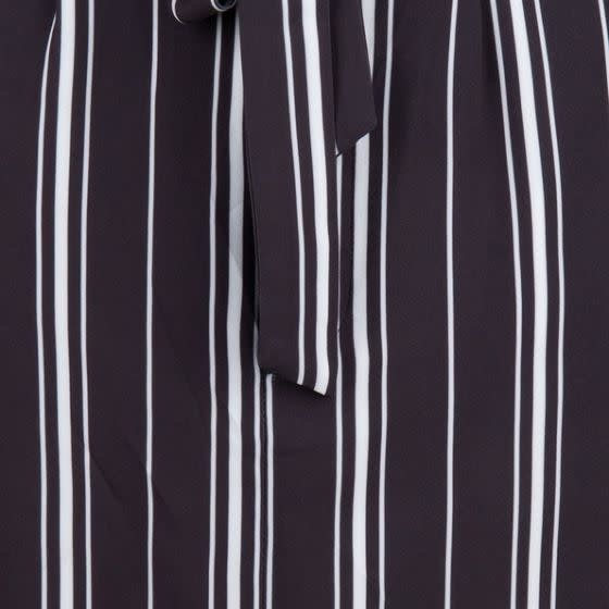 ESQUALO ESQUALO 17207 Striped Skirt