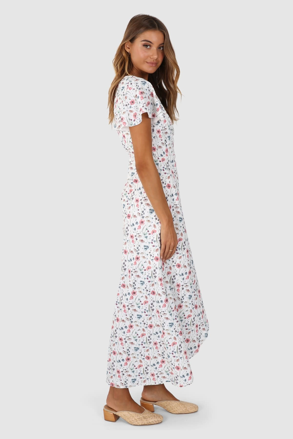 "LOST IN LUNAR LOST IN LUNAR L0726 ""ALEXIS"" Floral Dress"