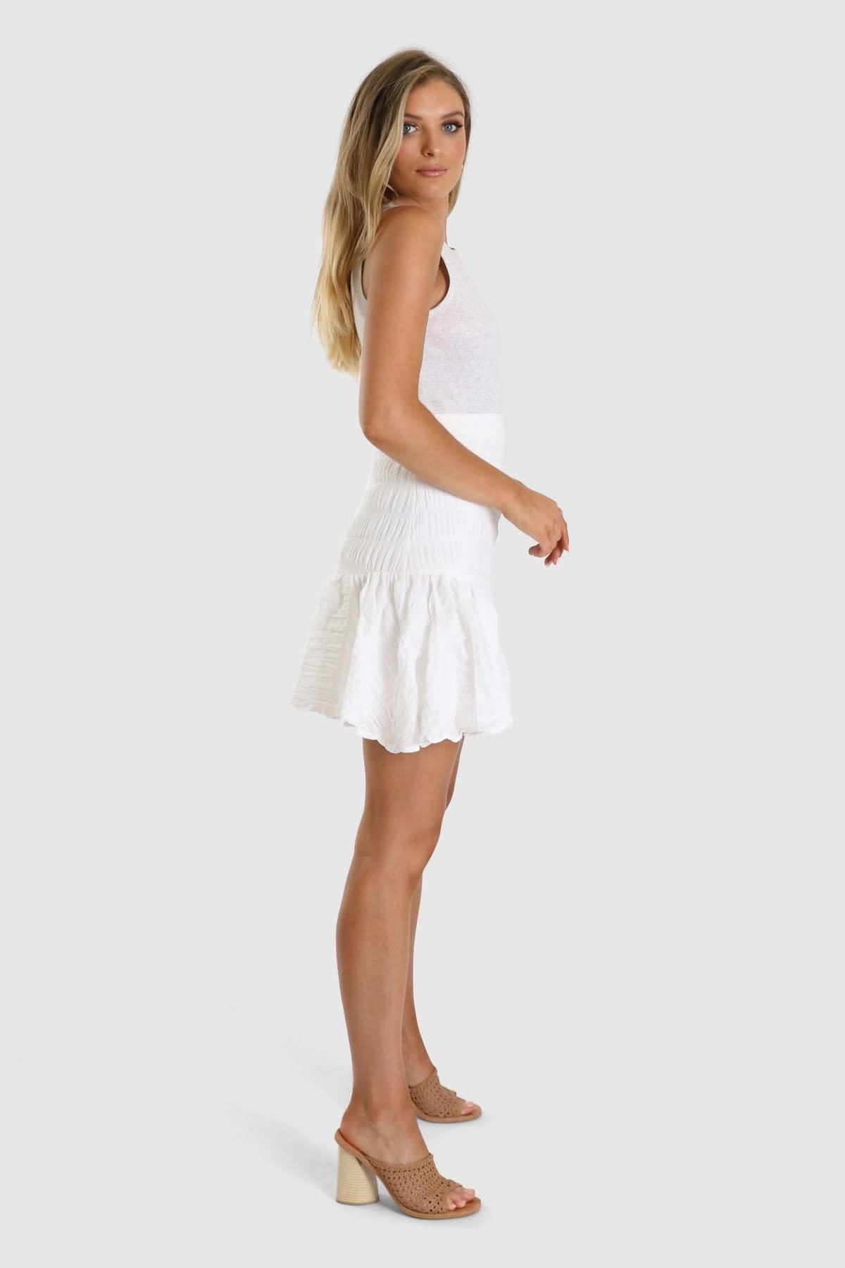 "LOST IN LUNAR LOST IN LUNAR L0190 "" TESSA"" Ruffle Skirt"