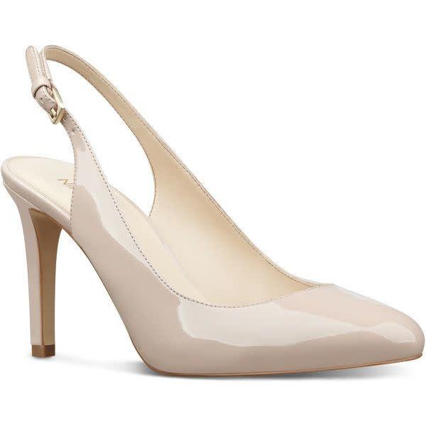 "NINE WEST NINE WEST ""HOLIDAY"" Patent Leather Slingback Heel REG. $125 SALE $95"