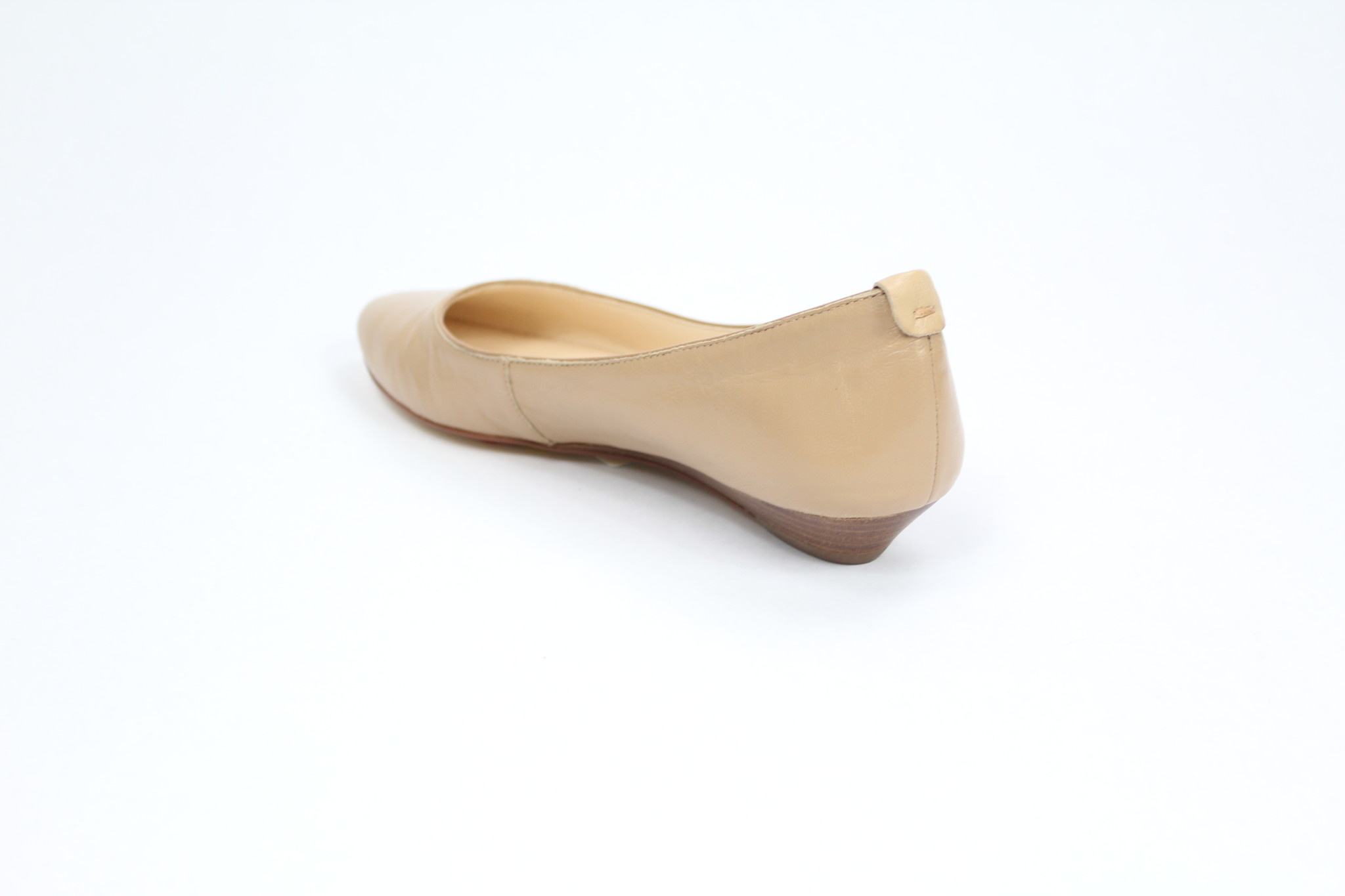"NINE WEST NINE WEST ""ITS ONN"" Leather Flat  REG. $130 SALE $89"