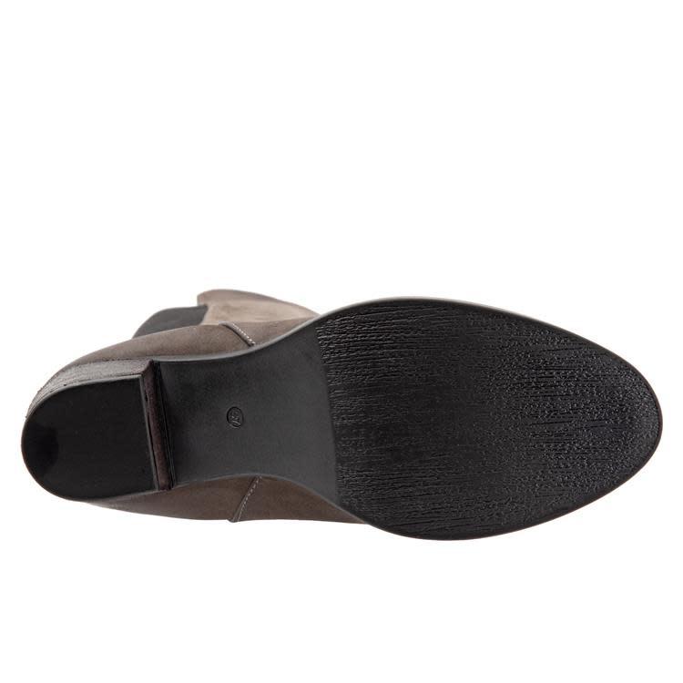 """BUENO BUENO """"WALT"""" Grey Nubuck Tall Boot"""