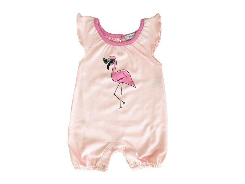 Baby Noomie Flamingo Romper