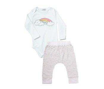 Rainbow Onesie/Pant Set