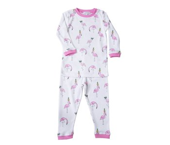 Two Piece PJ Flamingos