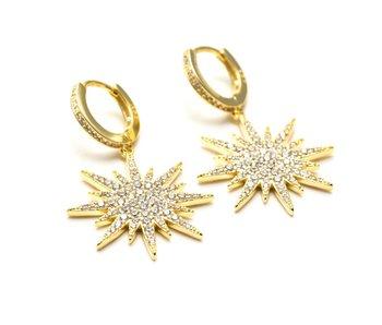 Tia Earring in Gold