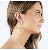 Jonesy Wood Americust Earring in Gold