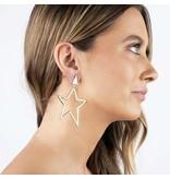 Jonesy Wood Americust Earring in Gold