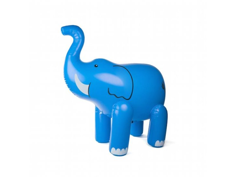 Elephant Blue Yard Sprinkler