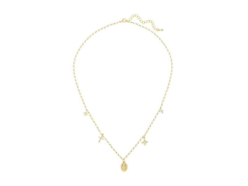 five and two Itzel Necklace