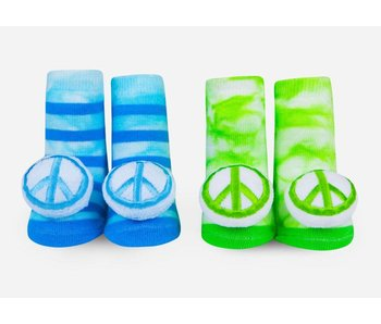 Peace Rattle Socks