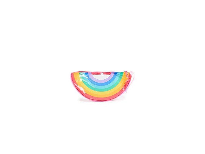 SunnyLife Rainbow See Thru Clutch
