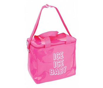 Large Cooler Bag Neon Pink