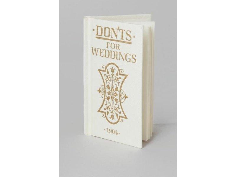 Macmillan Publishing Don'ts For Weddings