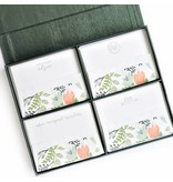Haute Papier Grand Pine Silk Stationery Box