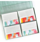 Haute Papier Grand Seafoam Silk Stationery Box