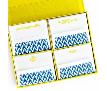 Grand Yellow Stationery Box