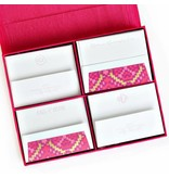 Haute Papier Grand Magenta Stationery Box