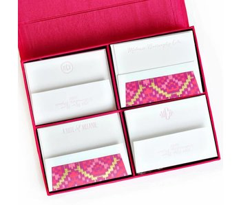 Grand Magenta Stationery Box
