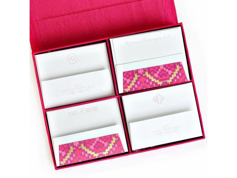 Haute Papier Grand Magenta Stationery Box