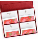 Haute Papier Grand Red Stationery Box