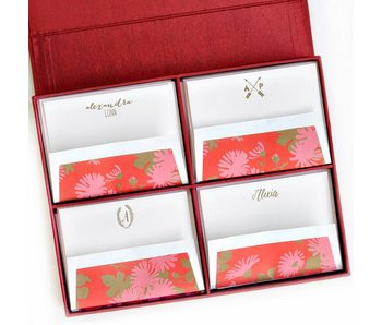 Grand Red Stationery Box
