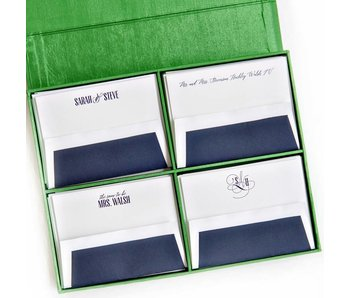 Grand Green Stationery Box