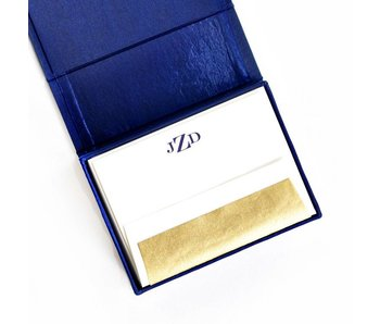 Petite Navy Stationery Box
