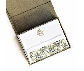 Petite Olive Stationery Box