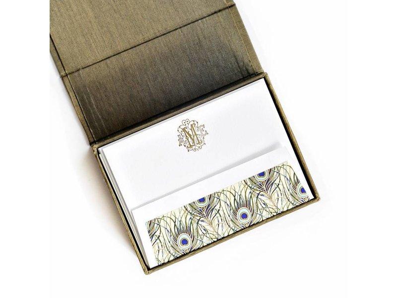 Haute Papier Petite Olive Stationery Box