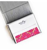 Haute Papier Petite Silver Stationery Box