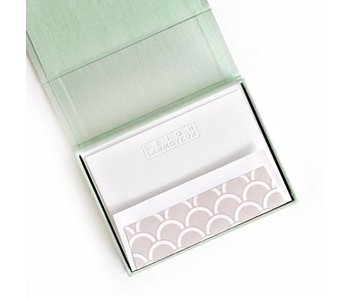 Petite Seafoam Stationery Box