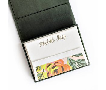 Petite Pine Stationery Box