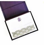 Haute Papier Petite Purple Stationery Box