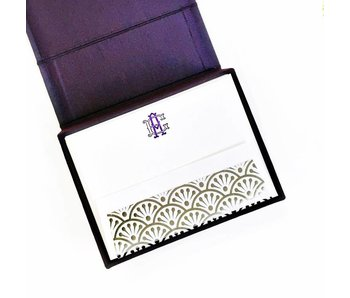 Petite Purple Stationery Box