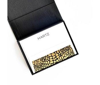 Petite Black Stationery Box