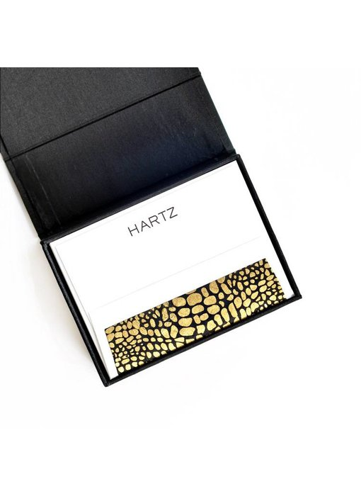Petite Black Stationery Box