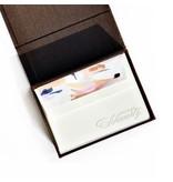 Haute Papier Petite Brown Stationery Box