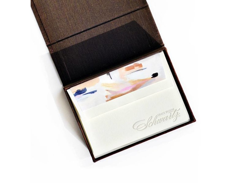 Haute Papier Petite Brown Stationery Box