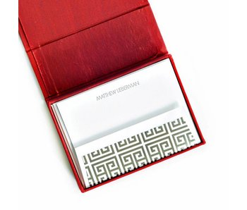 Petite Red Stationery Box