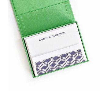 Petite Green Stationery Box