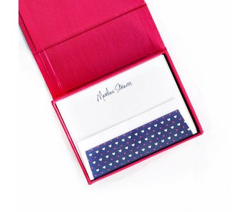 Petite Magenta Stationery Box