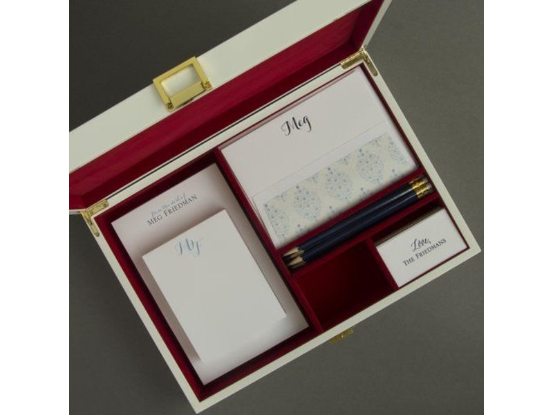 Haute Papier Red Stationery Wardrobe - WR17