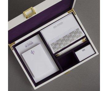 Purple Stationery Wardrobe - WP15