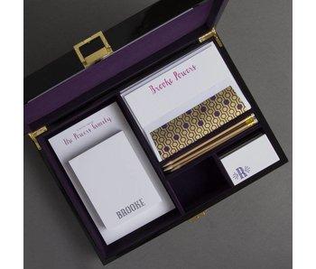 Purple Stationery Wardrobe - BP14